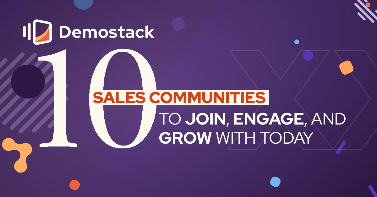 10 Sales communities to join, engage, and grow with today