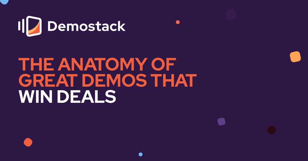 The anatomy of great demos that win deals