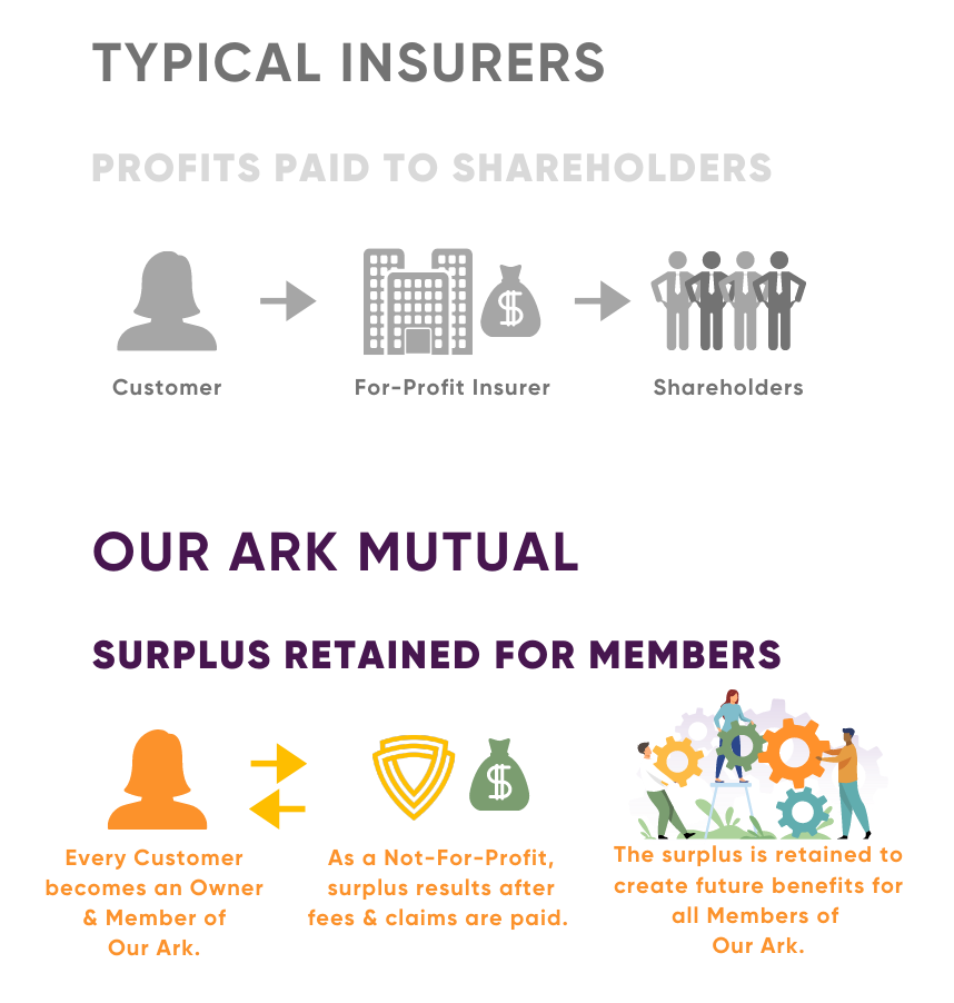 Our Ark Mutual - how it works