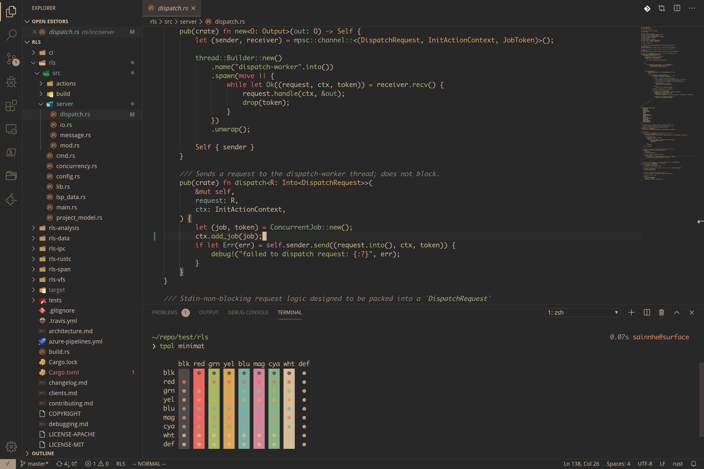 Gruvbox VS Code theme