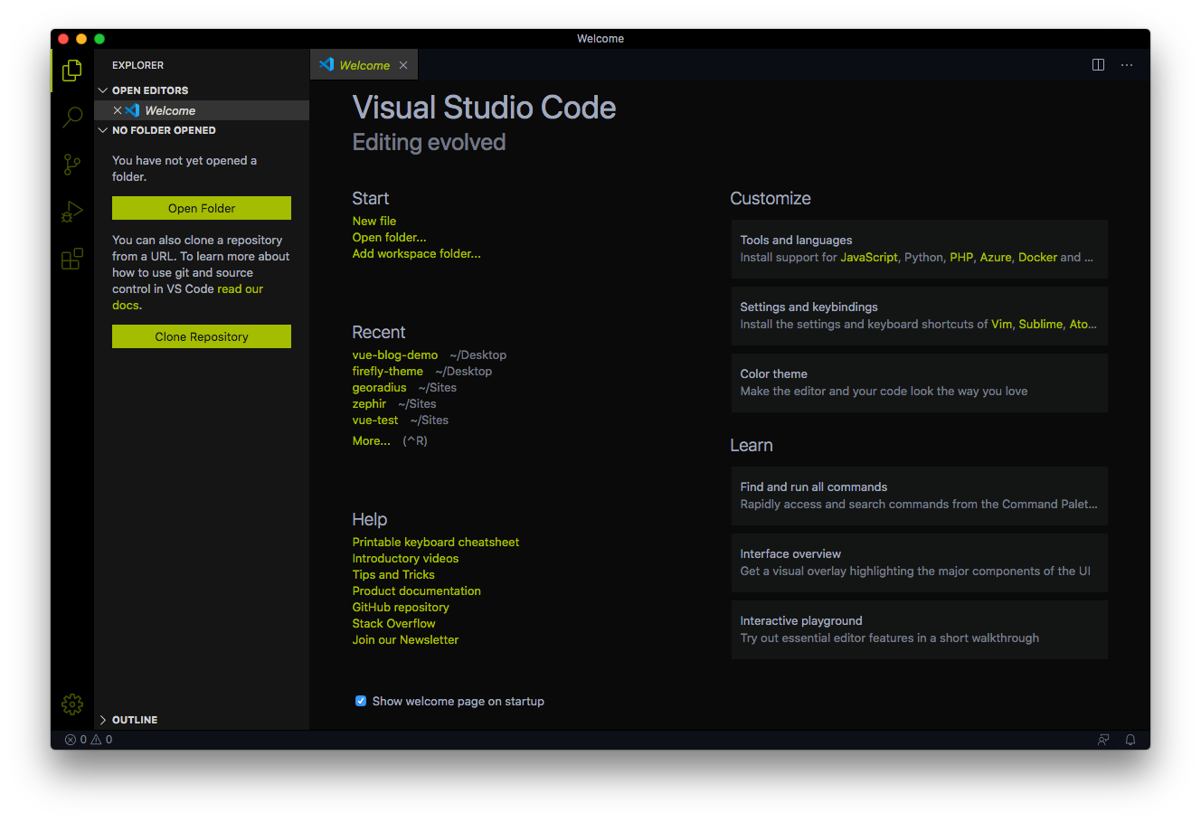 FireFly Pro VS Code theme