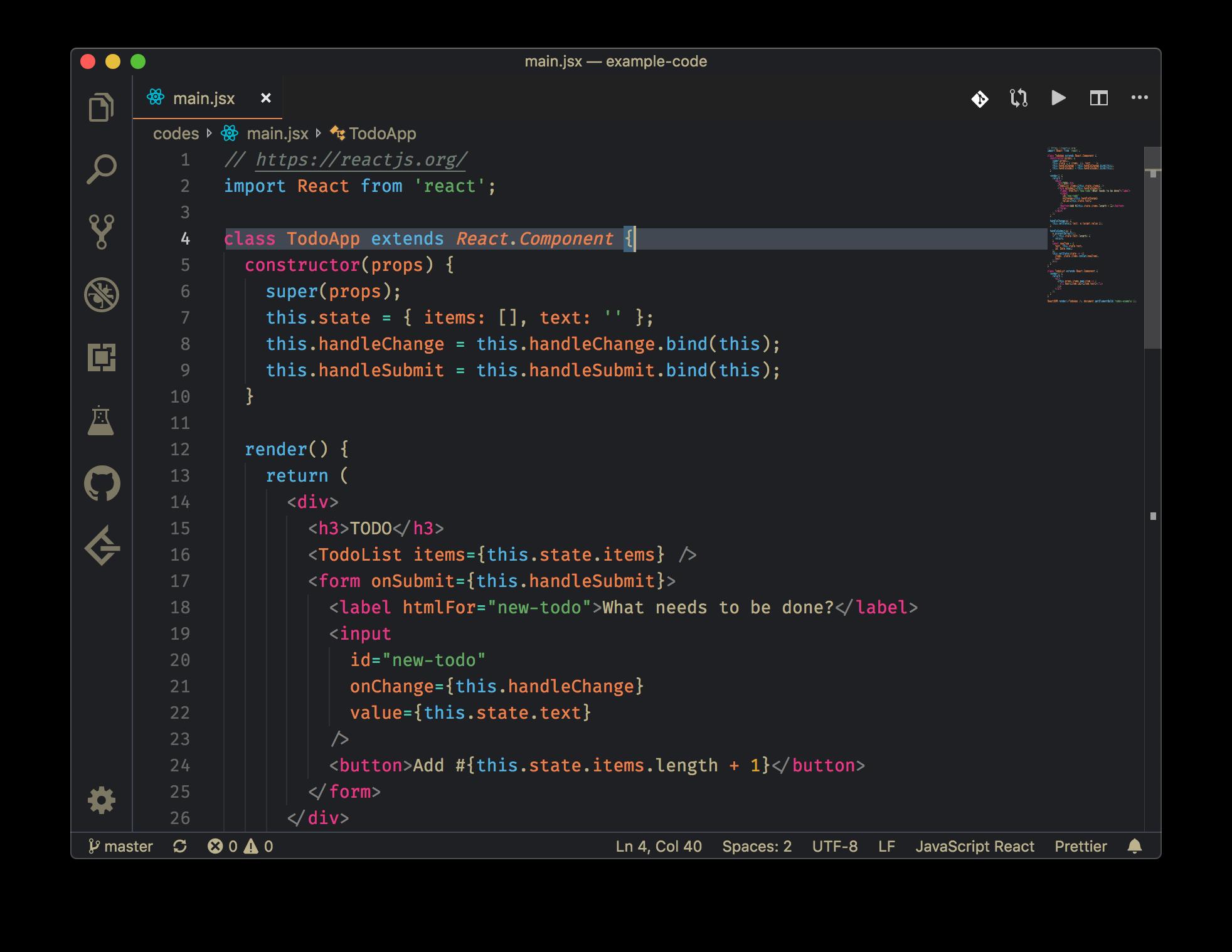 Bear VS Code theme