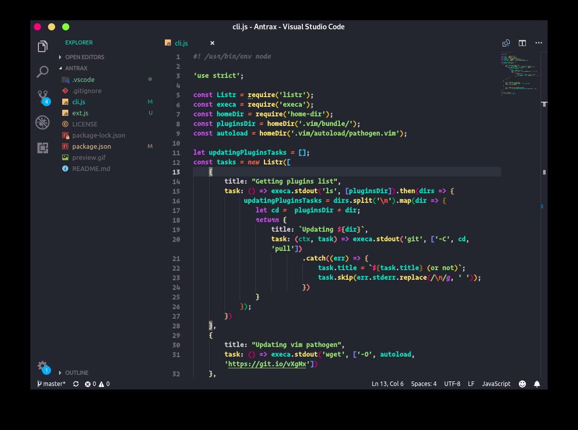 Andromeda for VS Code