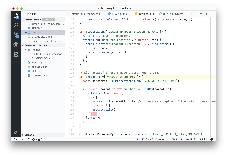 GitHub Plus for VS Code