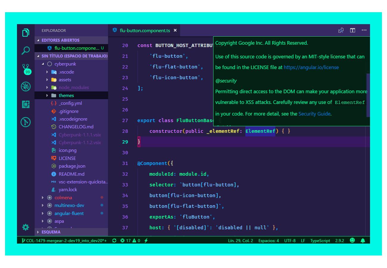Cyberpunk for VS Code
