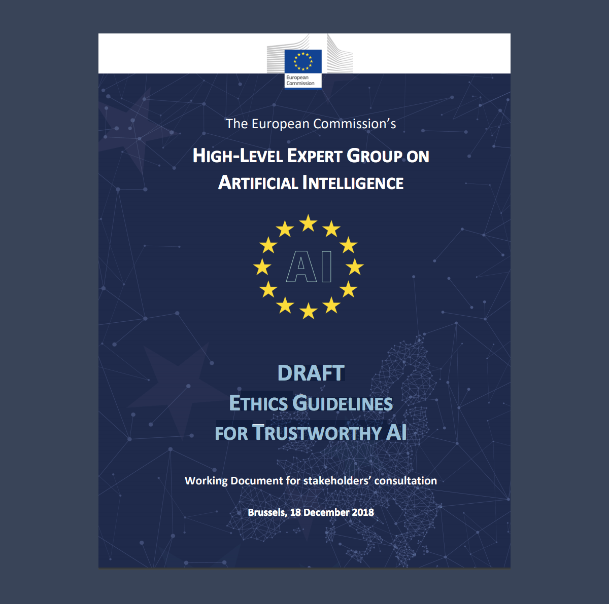 Europe High-Level Expert Group on Artificial Intelligence