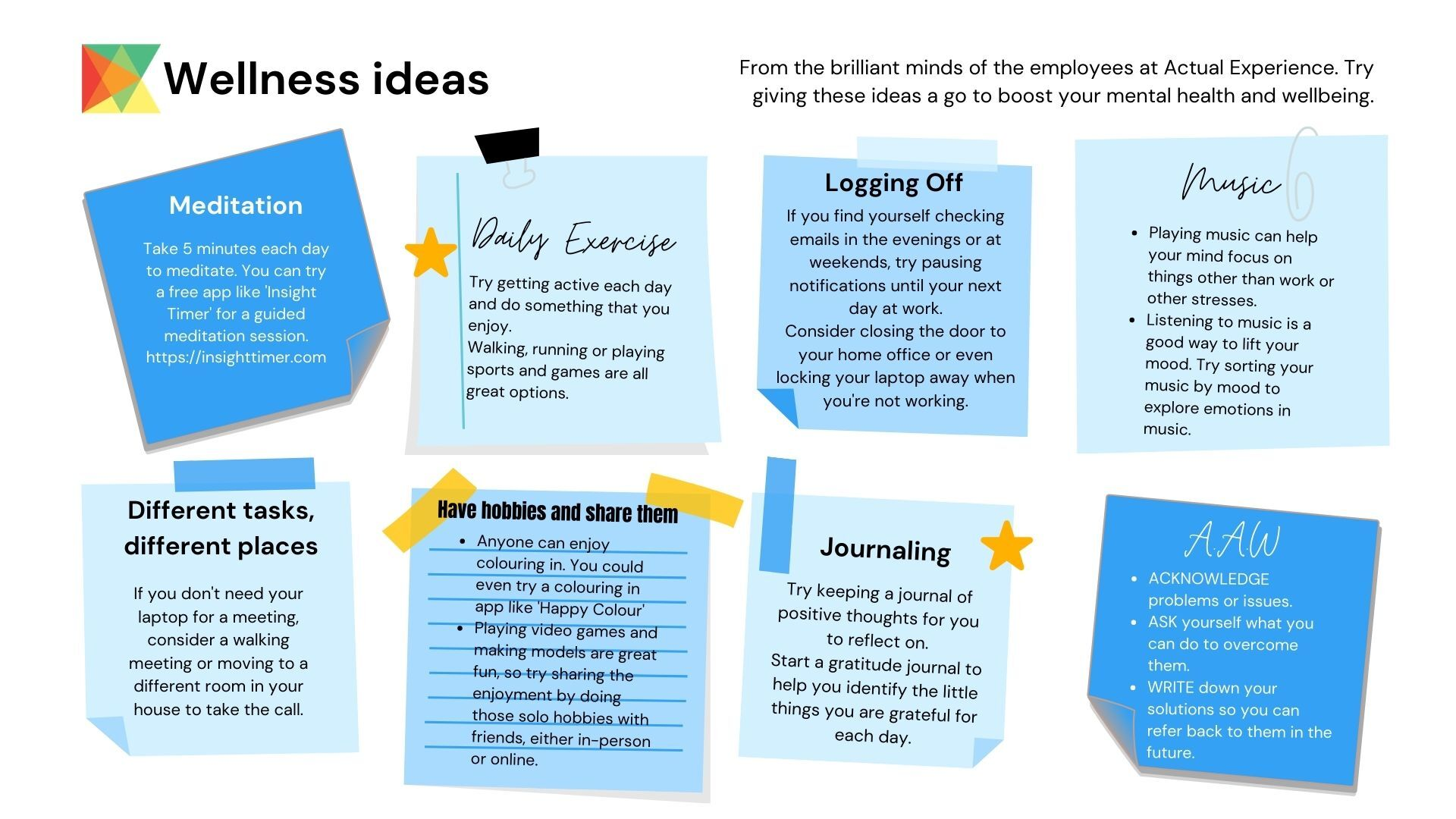 Wellness ideas