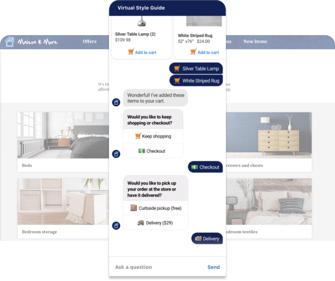 Showing how messaging on a landing page helps with conversion rates
