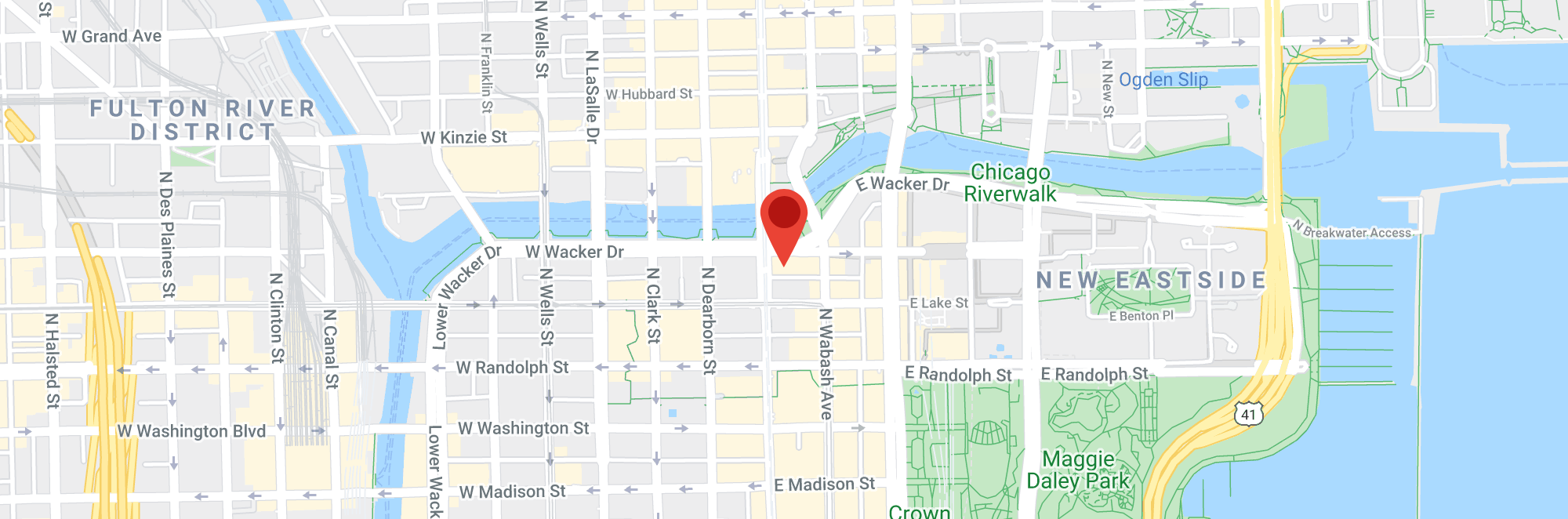 Map of Chicago (low-res)