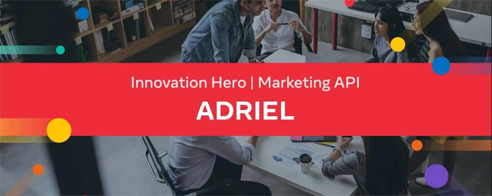 아드리엘, 2020 페이스북 파트너 어워즈 Innovation Hero 선정