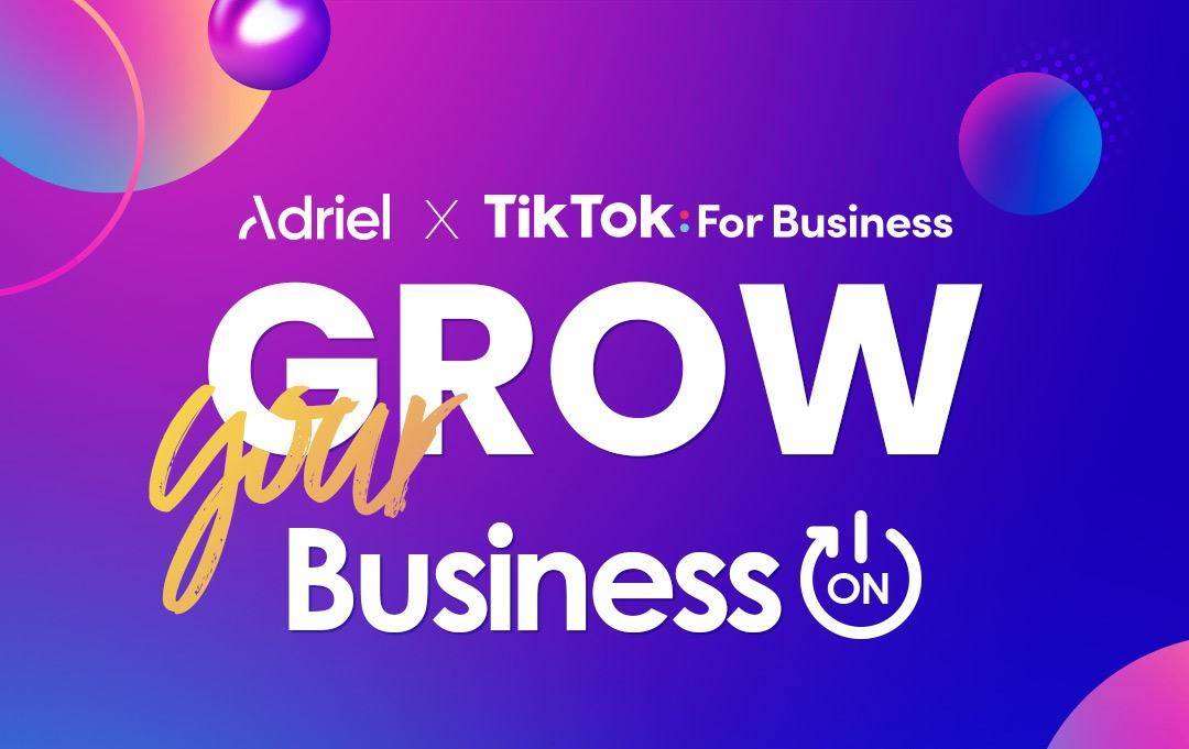 아드리엘-틱톡 공동 웨비나 개최, 뷰티 마케팅 성공 전략 제시