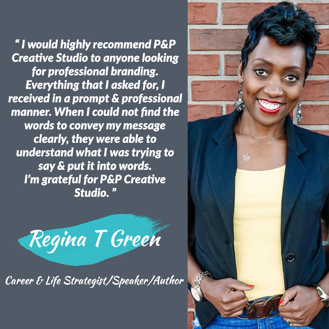 Client review from Regina T. Green