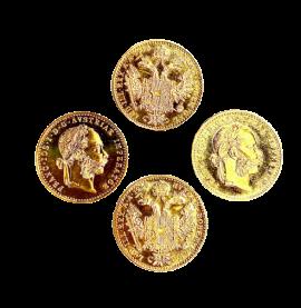 Opac 4 gold coins