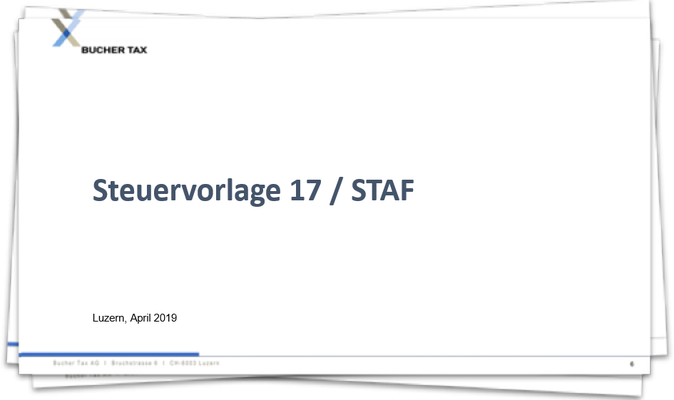 Steuervorlage 17 / STAF