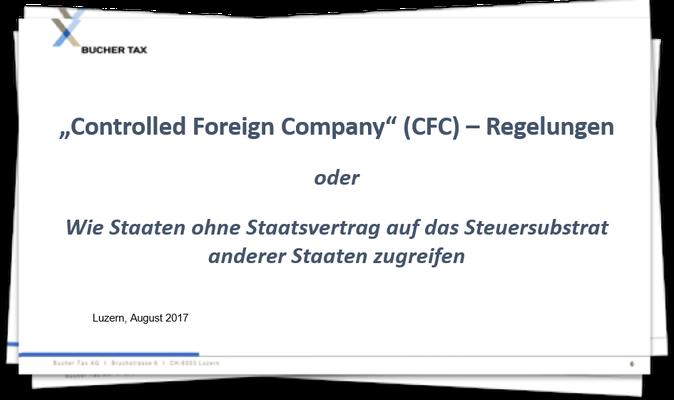 CFC-Regelungen kurz erklärt