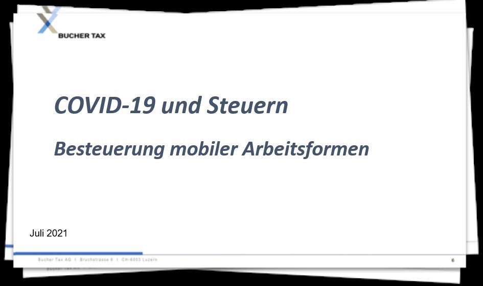 Covid-19 - Besteuerung mobiler Arbeitsformen
