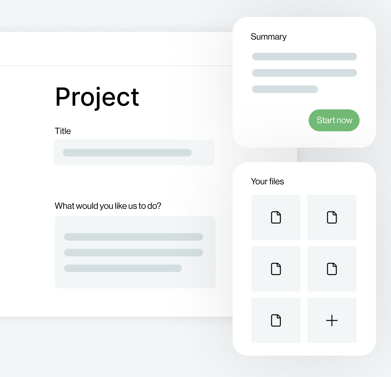 agencyMAX project briefs creation tool