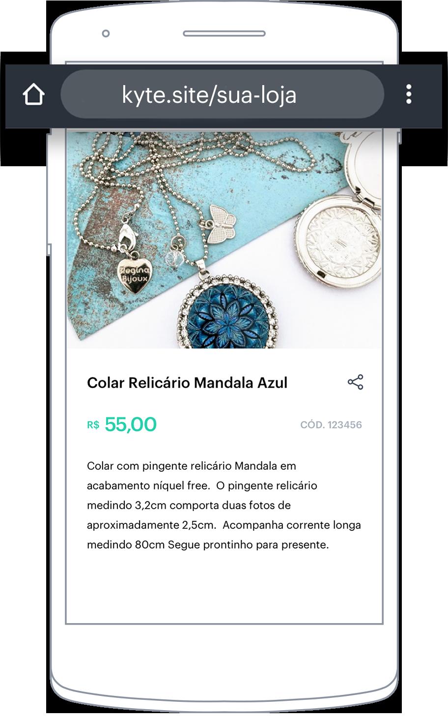 Catálogo de produtos online