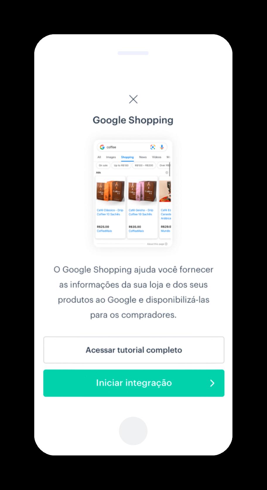 Conecte o Kyte ao Google Shopping