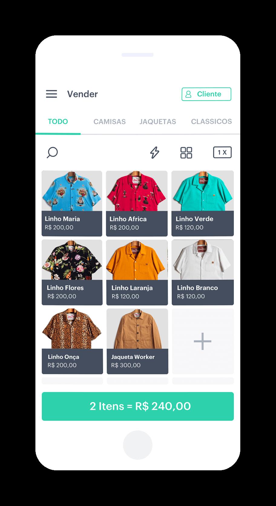 Catálogo de produtos para vender online