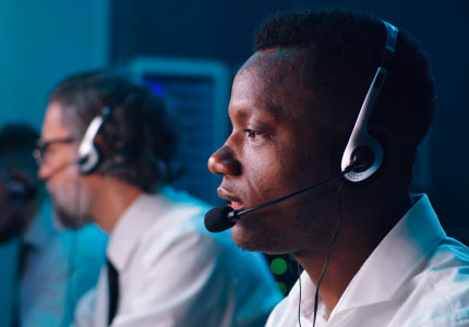 Highly trained control room staff providing support 24/7 all days of the week - to track your stolen car and provide recovery support.