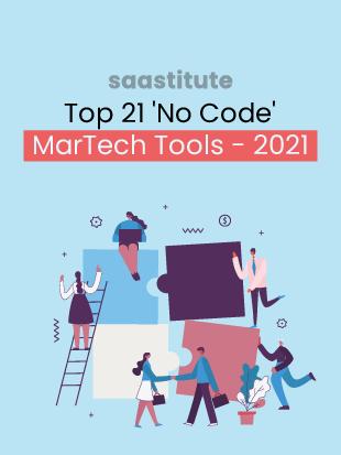 Top 21 'No Code' MarTech Tools for 2021