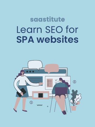 SEO for SPA application pages