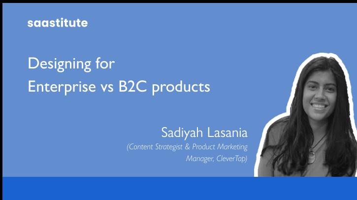 UX Design for Enterprise vs B2C products
