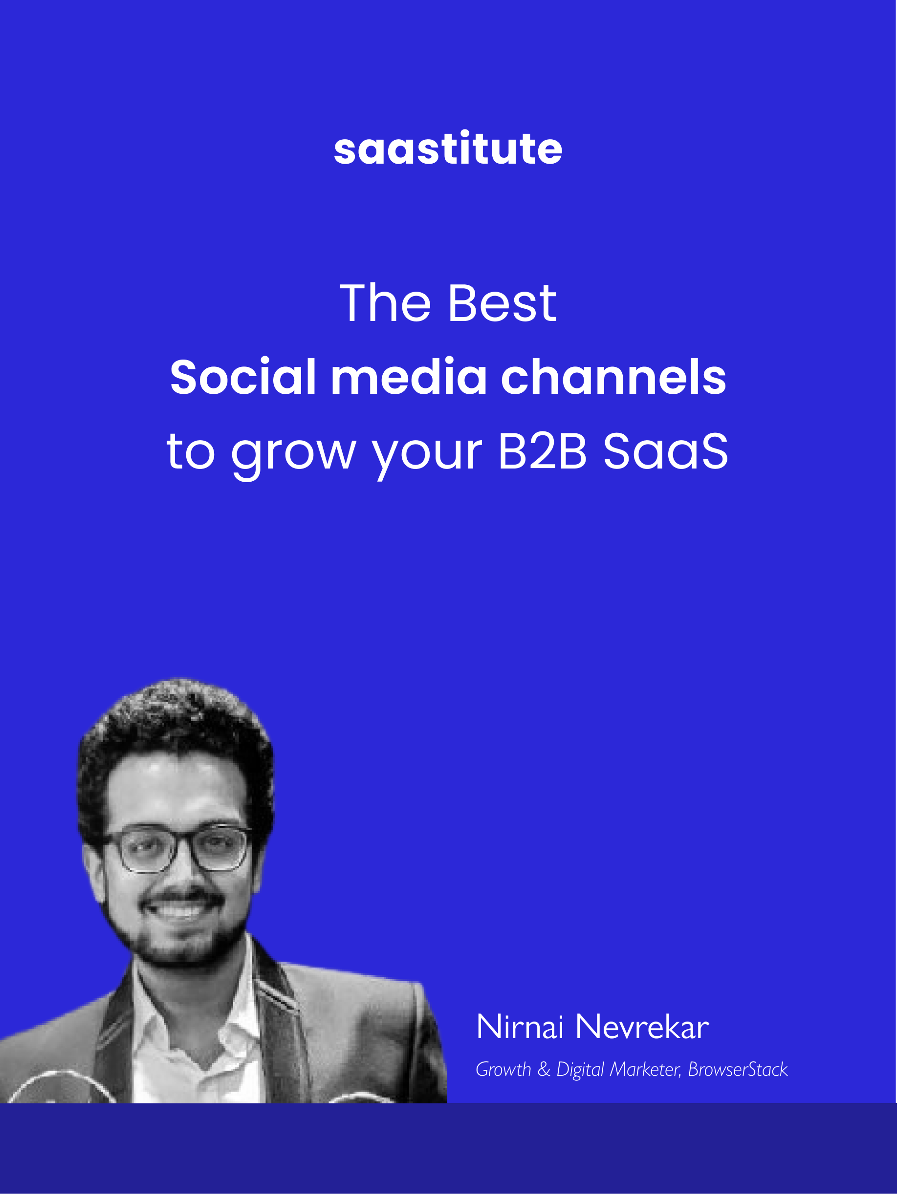 Best Social Media Channels to Grow your B2B SaaS