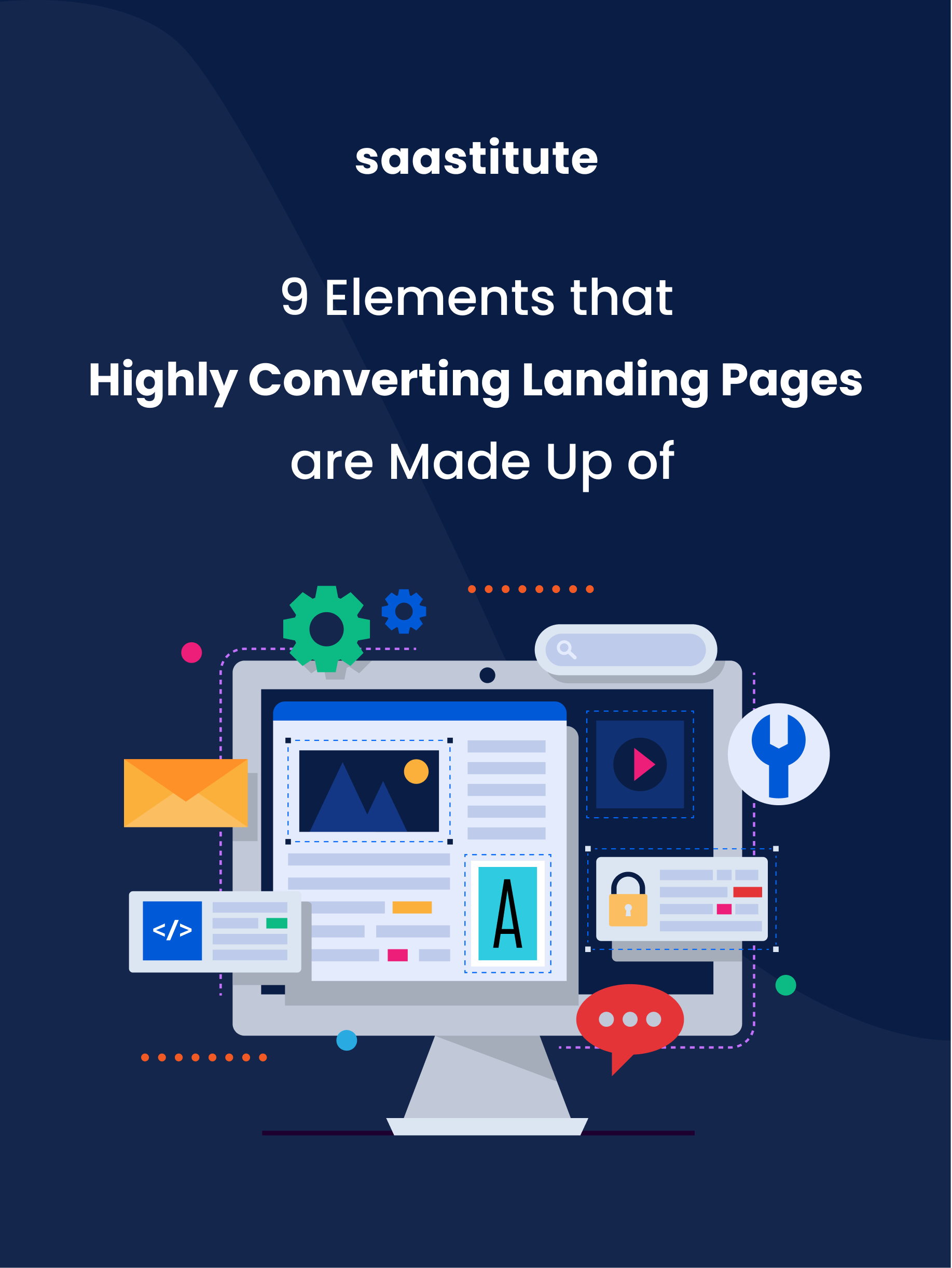 9 Elements that Highly Converting Landing Pages are Made Up of