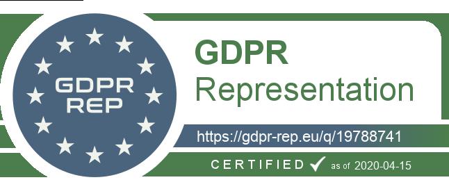 GDPR Rep Badge