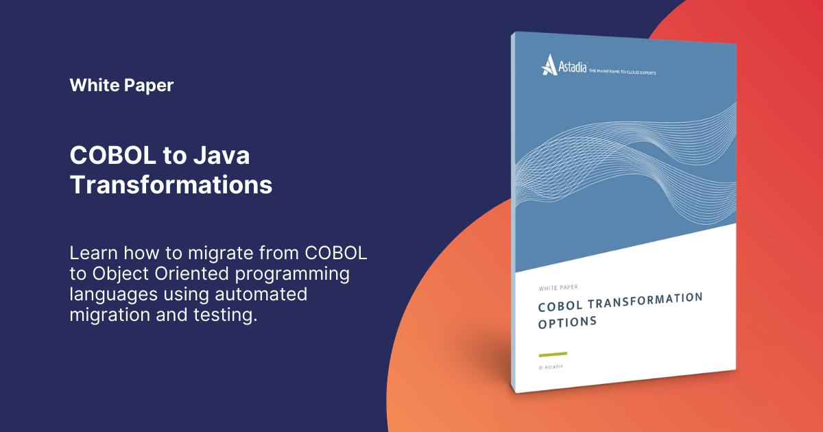 COBOL Transformation Options