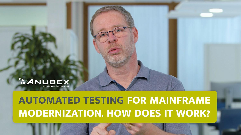 Automated Testing for Mainframe Modernization