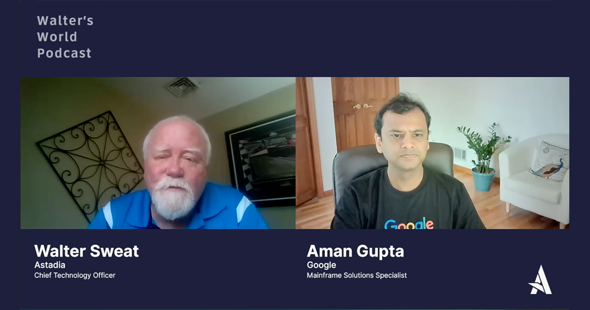 Aman Gupta, Mainframe Solutions Specialist at Google Cloud