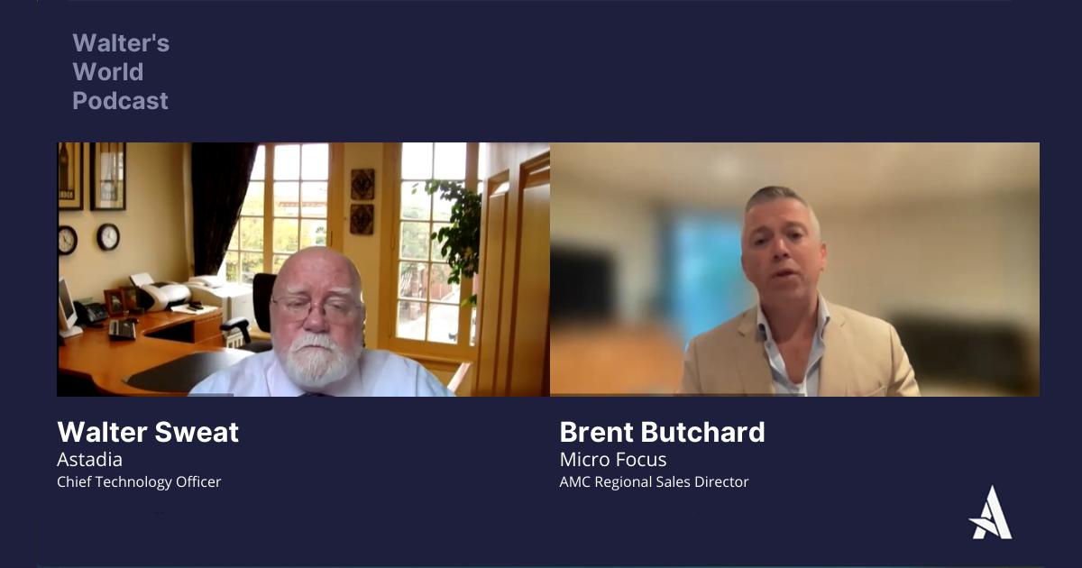 Brent Butchard, Regional Sales Director at Micro Focus