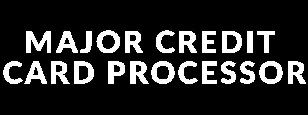 A Major Credit Card Processor