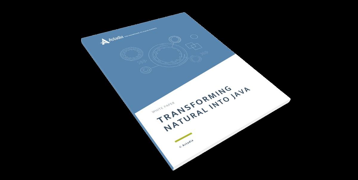 Natural to Java Transformation