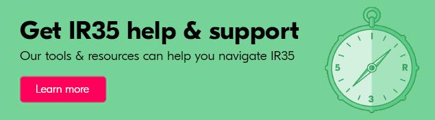 Get IR35 help & support from Crunch