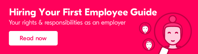 Hiring your first employee - Everything you need to know