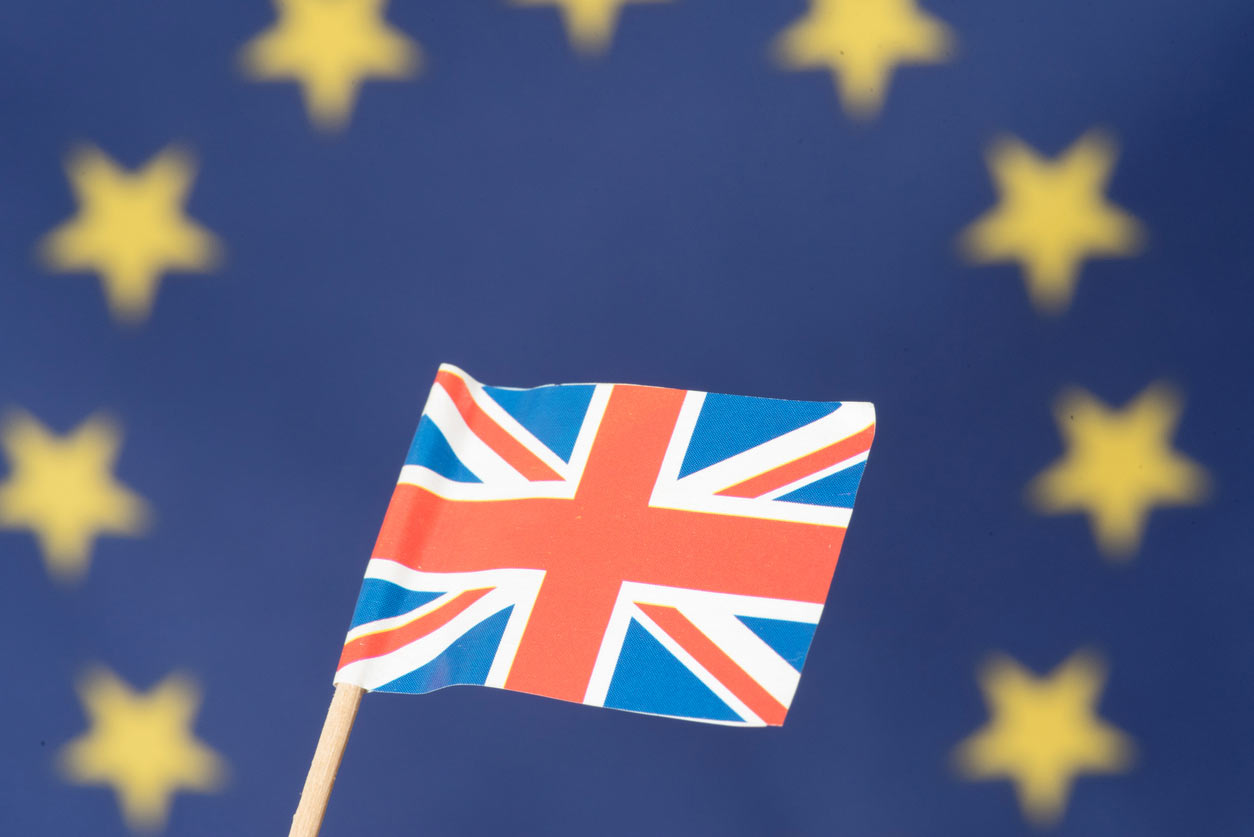 Brexit: What The Self-Employed Need To Know And Do, image of British and EU flags   Crunch