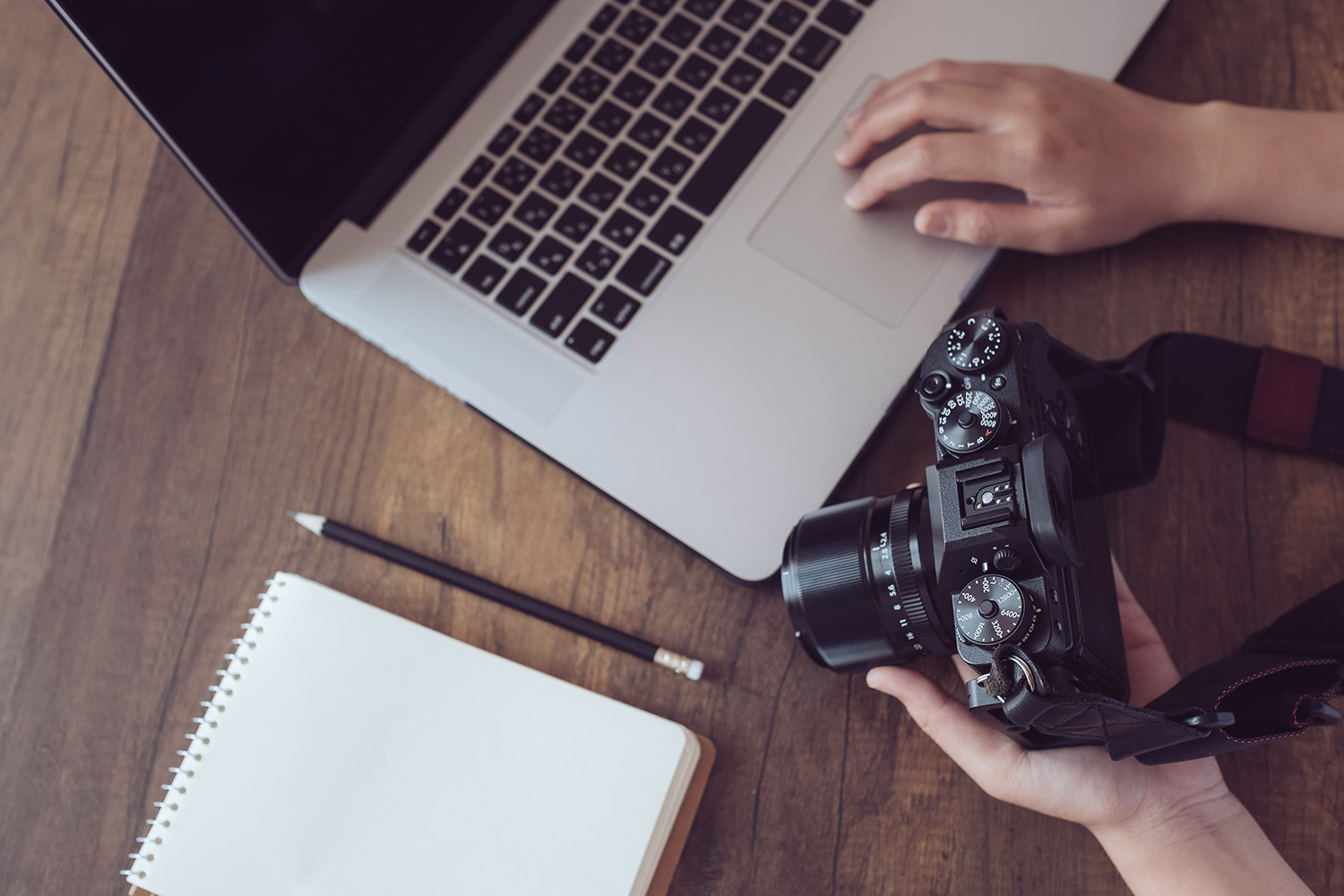 Becoming self-employed - 13 things to consider before going freelance,image of photography work space | Crunch