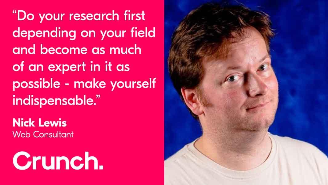 Nick Lewis - Crunch client