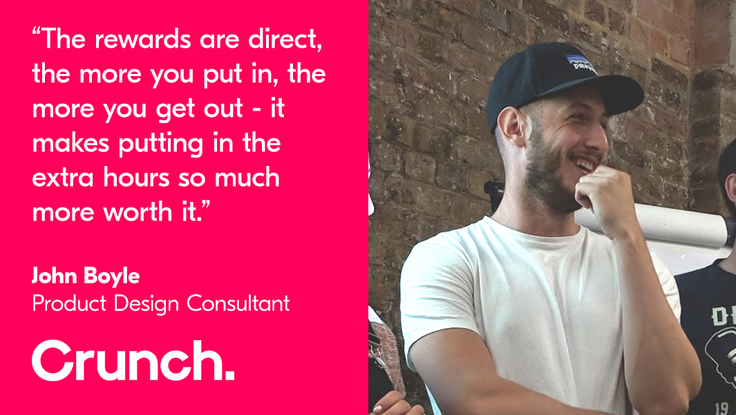 John Boyle - Crunch client