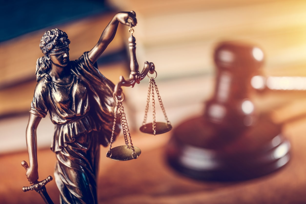 Do I have to do jury service? Image of Lady Justice
