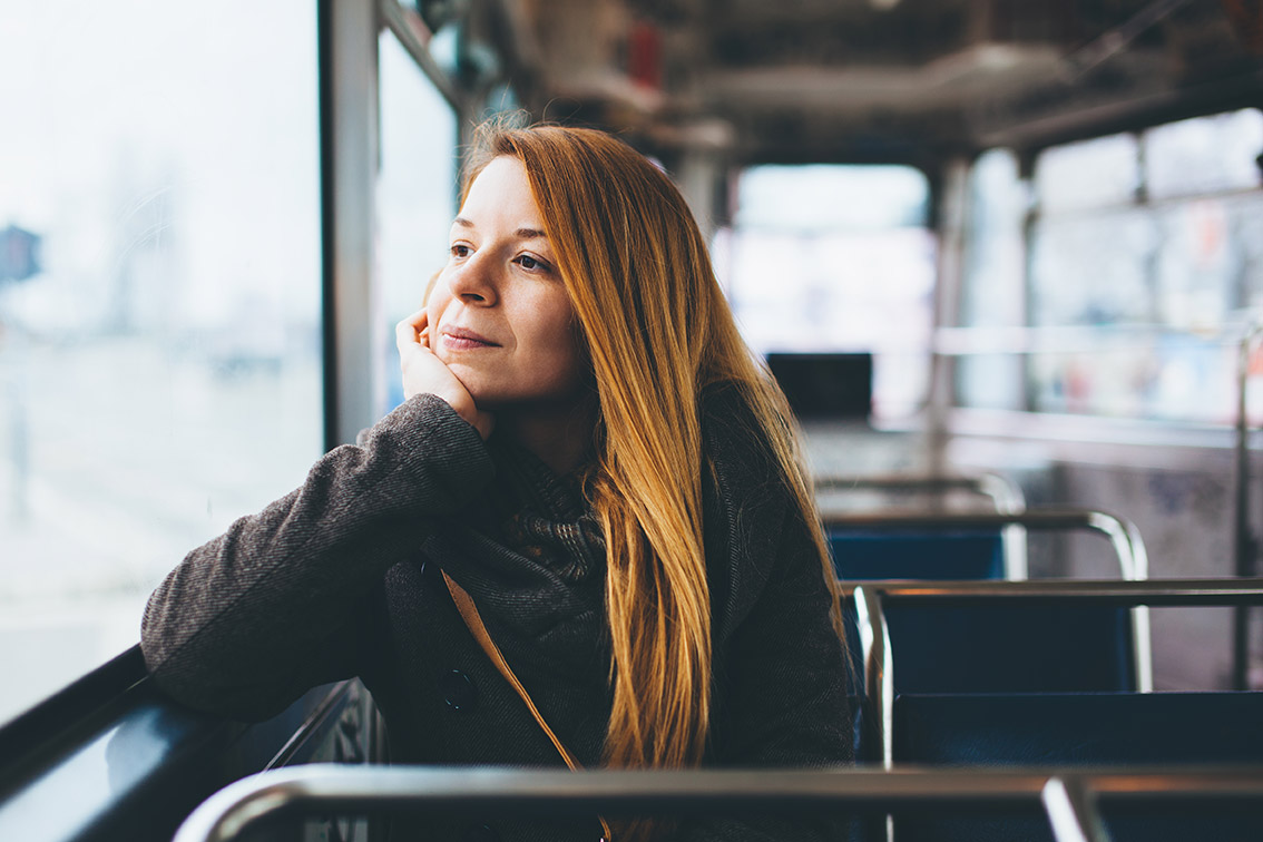 What sort of travel can I claim for as a limited company? | Crunch, image of someone on a bus