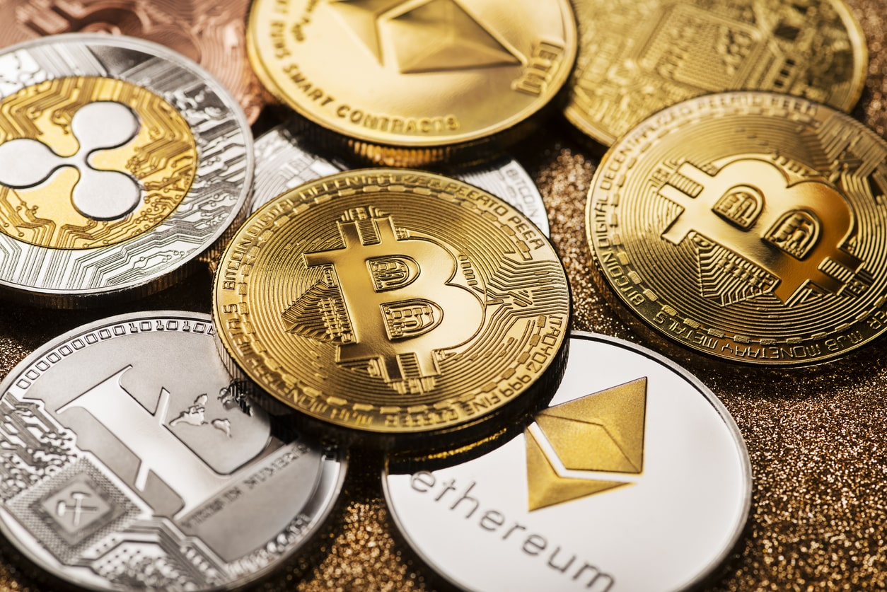 Cryptocurrency, cryptoassets, tax and HMRC investigations, image of Bitcoin | Crunch