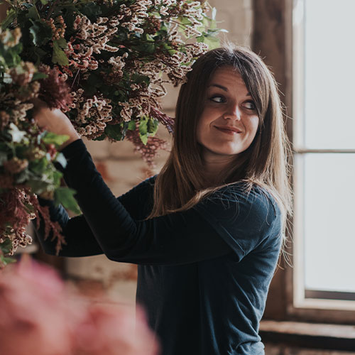 Gemma is the owner of Bloominati Florals - a fun, relaxed and creative wedding flower service. Read Gemma's tips on standing out in a crowded marketplace.