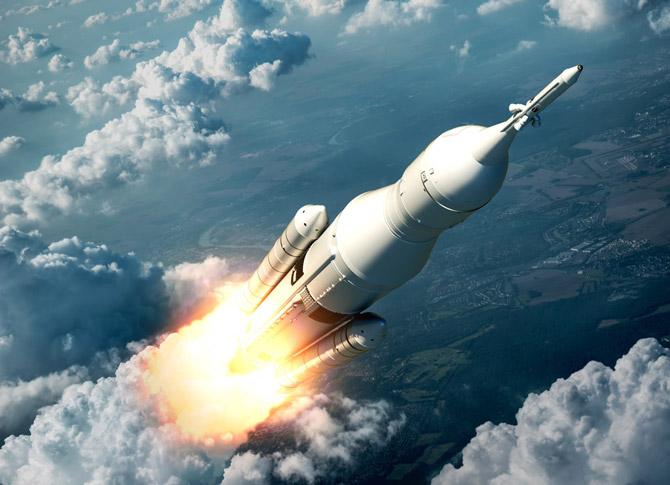 The aggregation of marginal gains, image of a rocket   Crunch