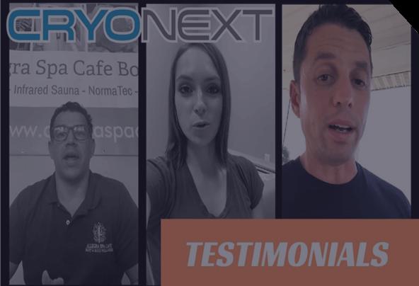 CryoNext Testimonials