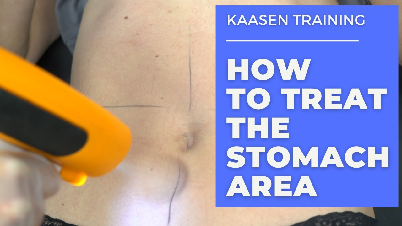 Kaasen Training - How to Treat the Stomach Area